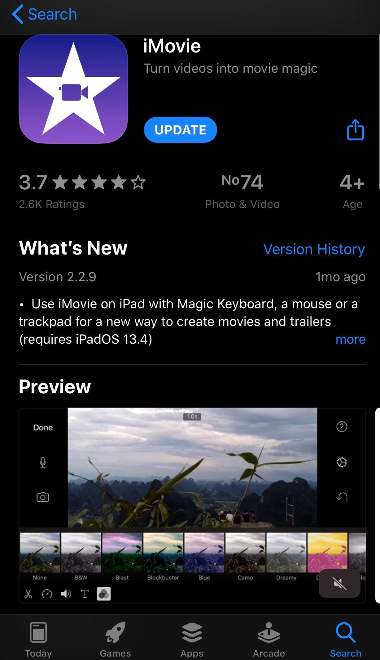 Turn videos to movies using iMovie.