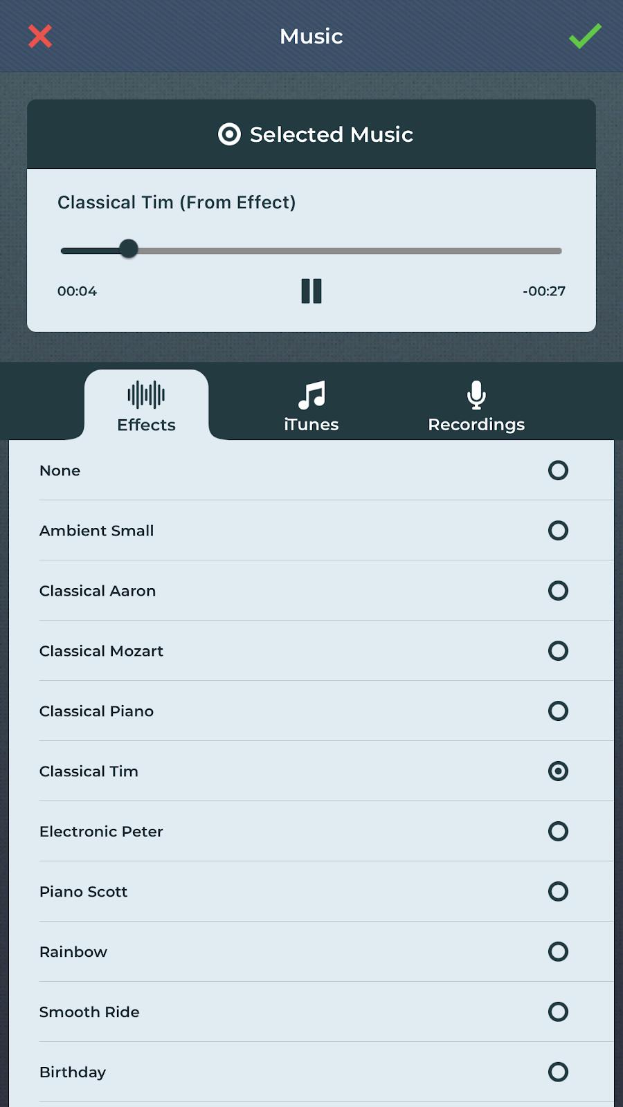 adding music to slideshow