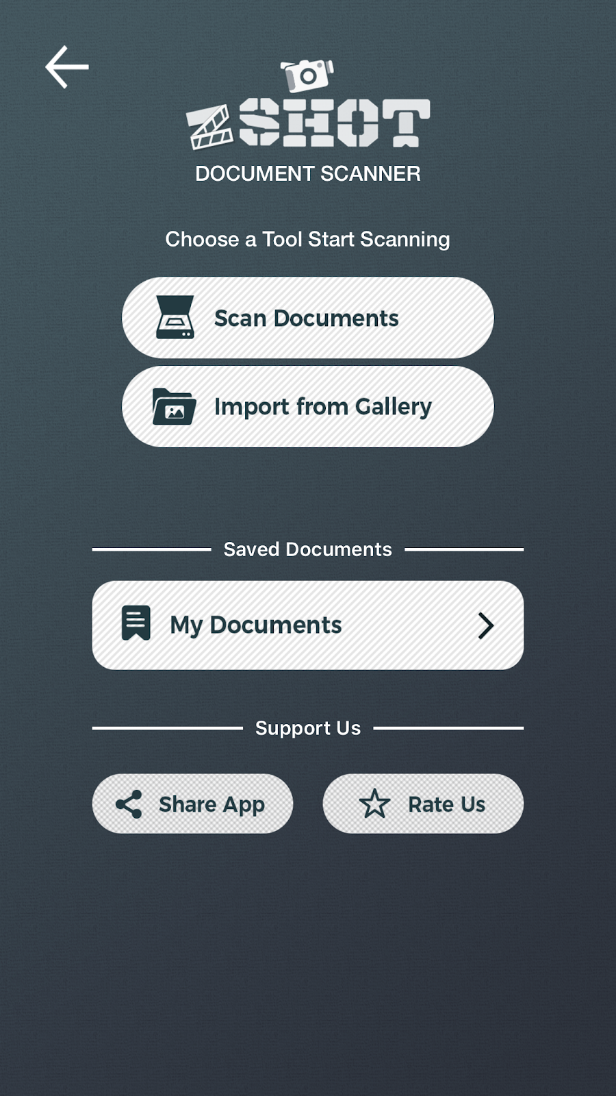 best scanner app homepage