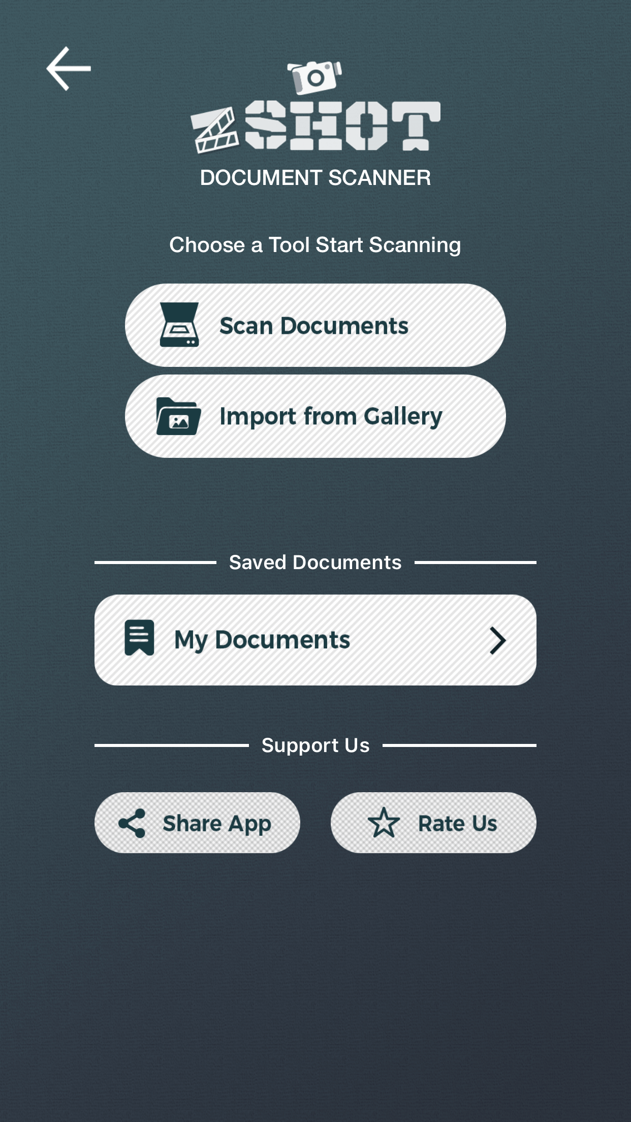 Scan documents with Document Scanner App.